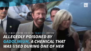 Chuck Norris Files Lawsuit, Claims MRI Chemical Poisoned His Wife - Video