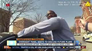 Community Oversight Task Force Chair gets in heated exchange with police after traffic stop