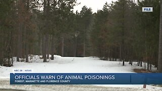 Officials warn of animal poisonings