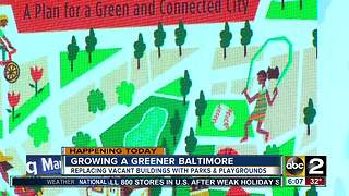 Growing a greener Baltimore by demolishing vacant buildings - Video
