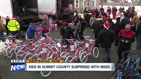 More than 1,000 bikes given away to kids in Summit County as part of annual holiday tradition