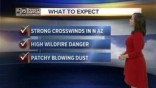 Windy day ahead across the state - Video