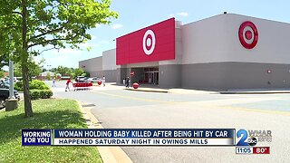 Grandmother holding granddaughter struck, killed by unlicensed driver in Target parking lot