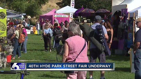 40th Hyde Park Street Fair underway