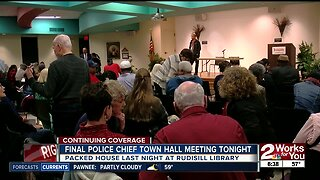 Final Police Chief Town Hall Meeting Tonight