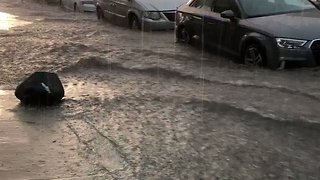 Flash Flooding Hits Queens After Thunderstorm