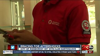 Family thankful for American Red Cross evacuation center after 6.4 magnitude earthquake