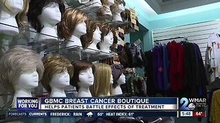 GBMC breast cancer boutique helps patients battle effects of treatment