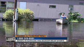 Flooding continues to impact people living near the Withlacoochee River - Video