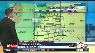 ALERT: Severe storms possible this afternoon - Video
