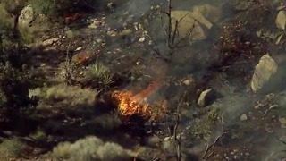 UPDATE: Pine Creek Fire in Red Rock Canyon fully contained - Video