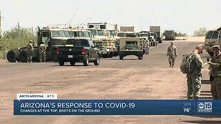 Arizona's response to COVID-19