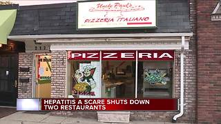 Two metro Detroit restaurants investigated for cases of Hepatitis A - Video