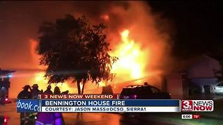 Bennington home destroyed in fire
