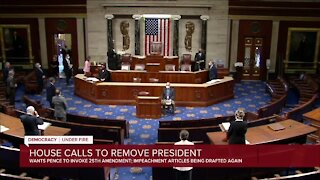 House calls to remove president, impeachment articles being drafted again