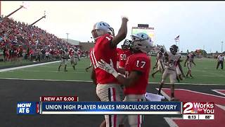 Union High athlete makes miraculous recovery - Video