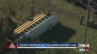 FL school districts not taking feds' advice on school bus seat belt safety - Video