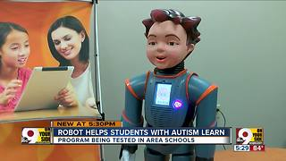 Milo The Robot helps kids with autism learn social skills