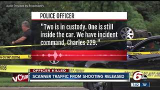 Scanner traffic from officer fatal shooting released - Video