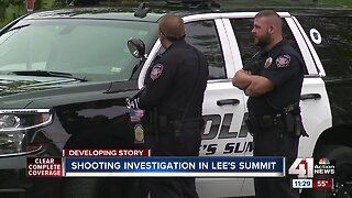 1 person seriously injured in shooting near Lee's Summit schools