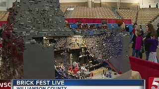 'Brick Fest Live' Held In Franklin - Video