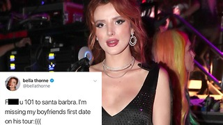 Bella Thorne SLAMMED by Fans and Fellow Celebs for Insensitive Mudslide Tweet