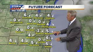 Partly cloudy Wednesday, highs near 70 - Video