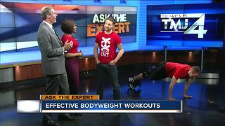 Ask the Expert: Effective bodyweight workouts - Video
