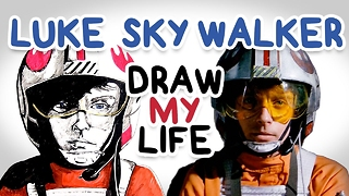 Luke Skywalker || Draw My Life - Video