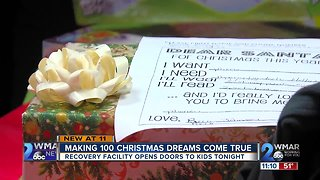 Christmas came early for kids in need