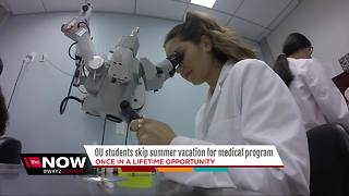 OU students skip summer vacation to research for medical program - Video