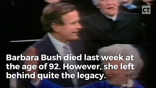 Ex-Secret Service Officer Reveals Barbara Bush's Astounding Last Request To Him