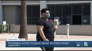 Martin County commissioners discuss mask mandate