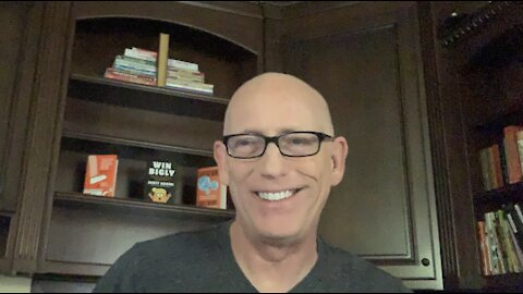 Episode 1327 Scott Adams: Paying Artists in SF, Kitler the Cat, Vaccination Passports