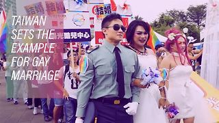 Gay marriage will be legal in Taiwan within 2 years - Video
