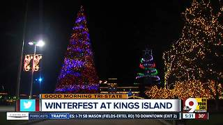 Kings Island flipping switch on 5 million lights at WinterFest - Video