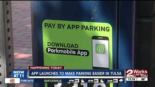 App launches to make parking easier in downtown Tulsa - Video