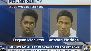 2 teens found guilty in assault of Robert Ponsi