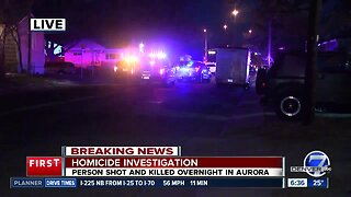 Aurora police investigating early morning homicide at E. 17th Avenue, Iola Street