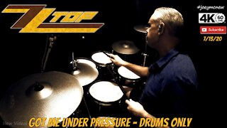 ZZ TOP - Got Me Under Pressure - Drums Only