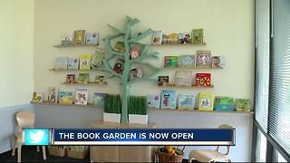 Book Garden now open - Video