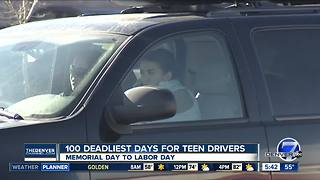 100 deadliest days for teen drivers starts Memorial Day - Video