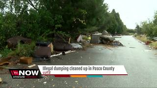 Illegal dumping cleaned up in Pasco County - Video
