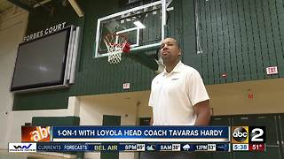 1-on-1 with Loyola's Tavaras Hardy - Video
