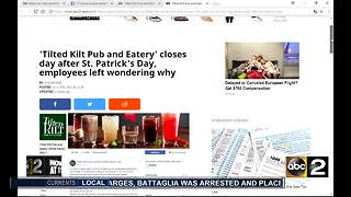 Local restaurant closes, employees left confused - Video