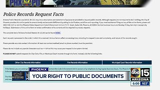Getting police records: What are your rights?