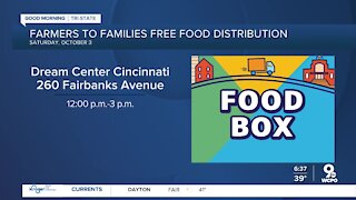 Farmers to Families provides meals to those in need this Saturday