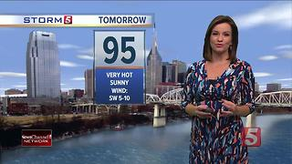 Bree's Evening Forecast: Mon., July 10, 2017 - Video