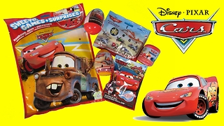 DISNEY Pixar CARS And PLANES Mega BLIND BAG, MASHEM And SURPRISE EGGS Opening – 3S - Video