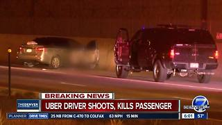 Police: Uber driver shoots, kills passenger on Denver interstate